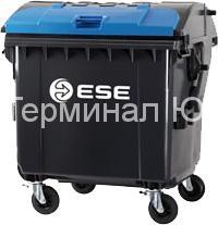 4-х колесные контейнеры для мусора со сферической крышкой