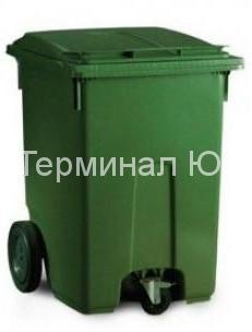 3-х колесные мусорные баки в Киеве