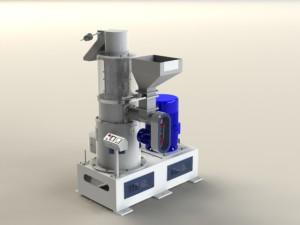 Вертикальный шлифовщик риса VS 80 от 4,5 до 5 тонн в час.